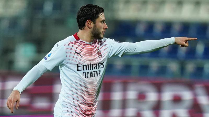 Cagliari-Milan,<br /> le pagelle: Calabria maturo,<br /> 7. Lykogiannis colpevole sui gol,<br /> 5