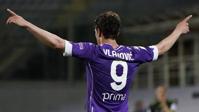 Fiorentina-Lazio,<br /> le pagelle: Vlahovic in stato di grazia,<br /> 8,<br />5. Milinkovic non molla col naso rotto: 6,<br />5