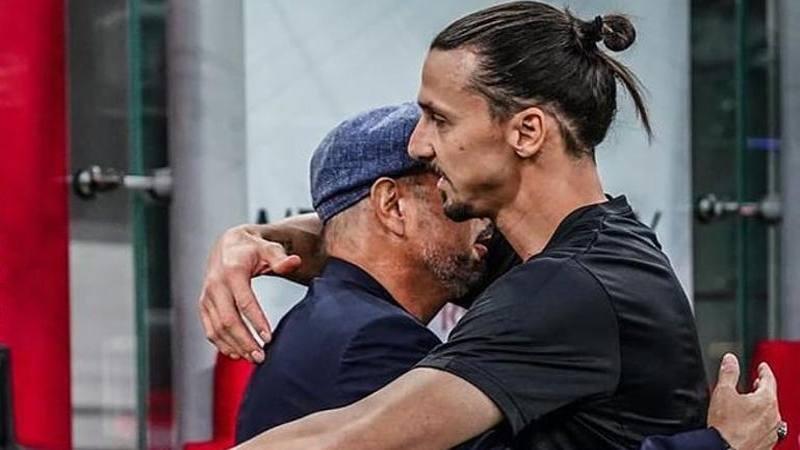 Ibra celebra l'amicizia con Miha. E Sinisa non risponde su Zlatan al Bologna