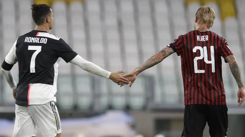 Il musetto avanti della Juve e la dignitosa pochezza del Milan