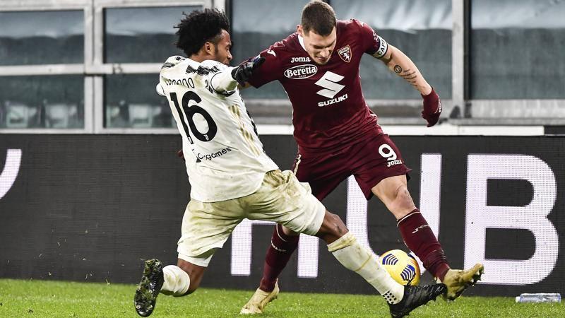 Juventus-Torino,<br /> le pagelle: Cuadrado sempre sveglio,<br /> 7,<br />5. Belotti non perde un duello,<br /> 7