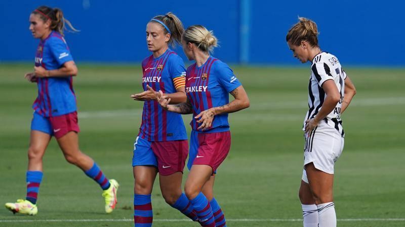 Brutta sconfitta della Juventus Women che perde 6 a 0 contro il Barcellona Partita mai in discussione, troppo forti le blaugrana