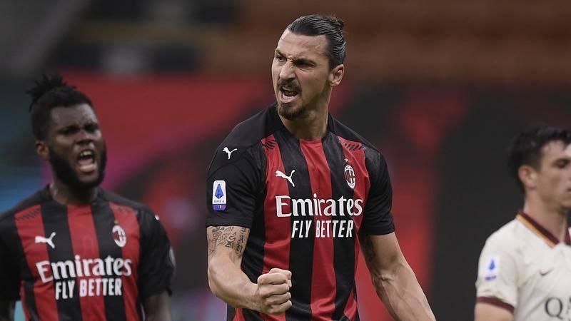 L'Ibra dei record fissa l'obiettivo: il gol del Milan pi� vecchio in Europa