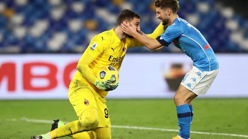 Napoli-Milan, le pagelle: super Gigio � da 7,5. Insigne non si accende: 5,5