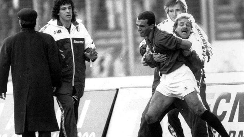 Pasquale Bruno attacca la Juve: Simulano tutti. Nedved Pallone d'Oro nei tuffi