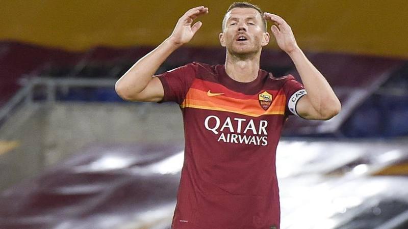 Roma-Juve, le pagelle: Dzeko imprendibile ma sciupone: 6. Rabiot, che disastro: 4