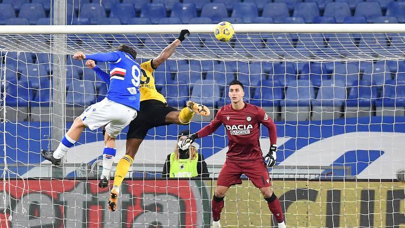 Samp-Udinese,<br /> le pagelle: Torregrossa,<br /> esordio da 7. De Paul,<br /> tanta sostanza,<br /> 6.5