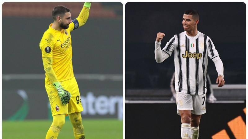� sfida fra numeri uno. Ronaldo, il signore del gol, e Donnarumma, il re della porta