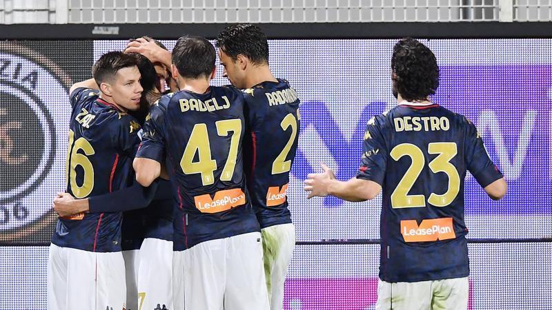 Spezia-Genoa,<br /> le pagelle: brilla Pandev,<br /> 7! Terzi,<br /> che errore: 5