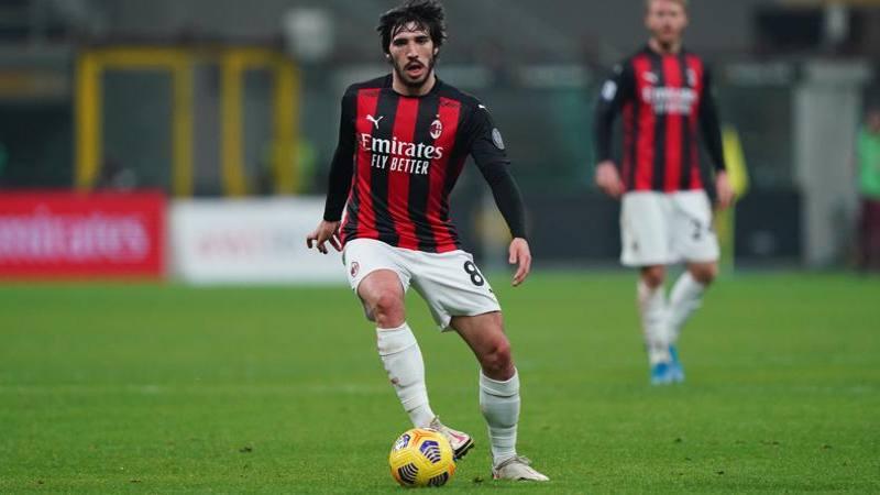 Tonali: Milan,<br /> lotteremo per lo scudetto. E io voglio riprendermi l'azzurro