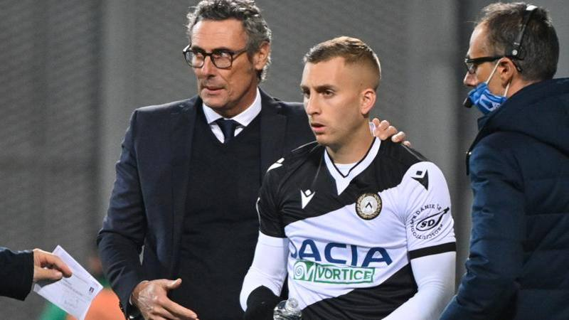 Udinese,<br /> Deulofeu si arrende: Le ho provate tutte,<br /> ma mi dovr� operare