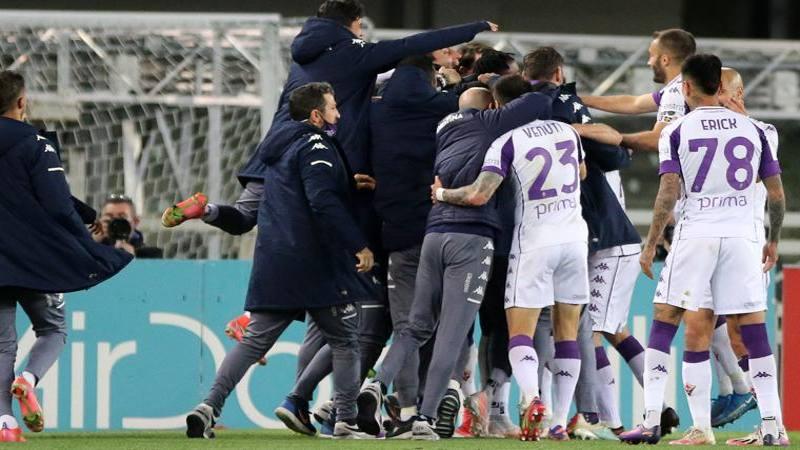 Verona-Fiorentina: Faraoni non delude e merita 6,<br />5. Venuti decisivo,<br /> 7